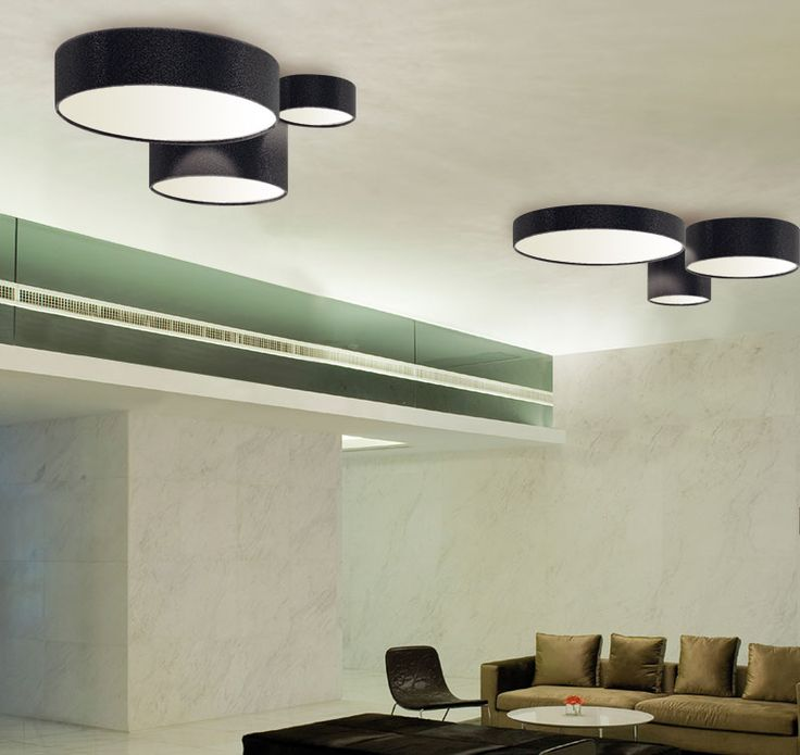 Ceiling Lamp Aros Plafon By El Tor Lampshade Available In Any Material Attached Magnets