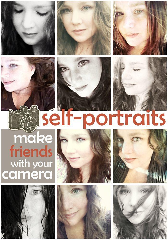 How to do awesome self-portraits :)