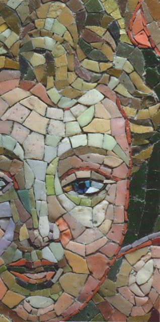 Orsoni mosaic in Venice, province of Venezia , Veneto region Italy