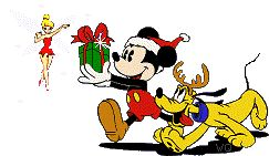 Image result for mickey christmas animated gif