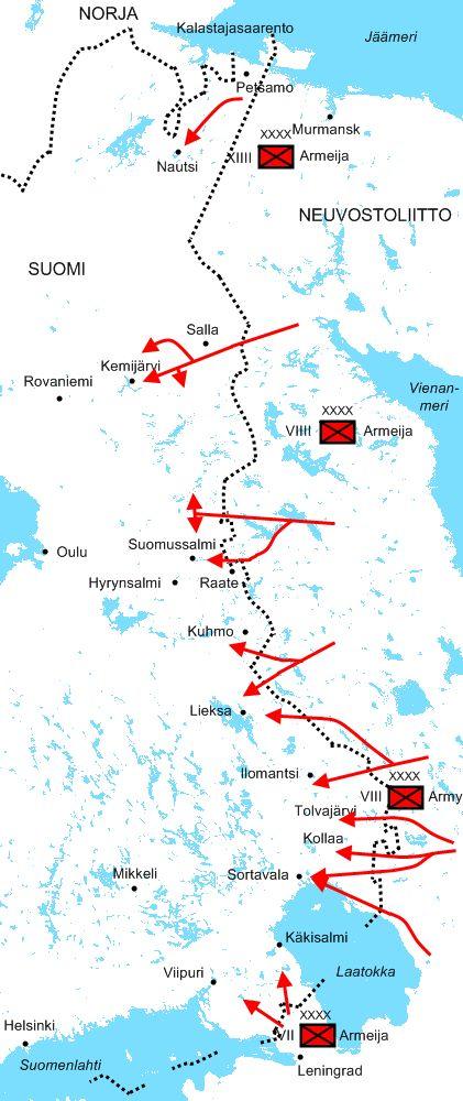 Puna-armeijan hyökkäykset ja etenemiset 30. marraskuu – 22. joulukuuta 1939.