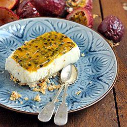 Gluten free granadilla fridge tart
