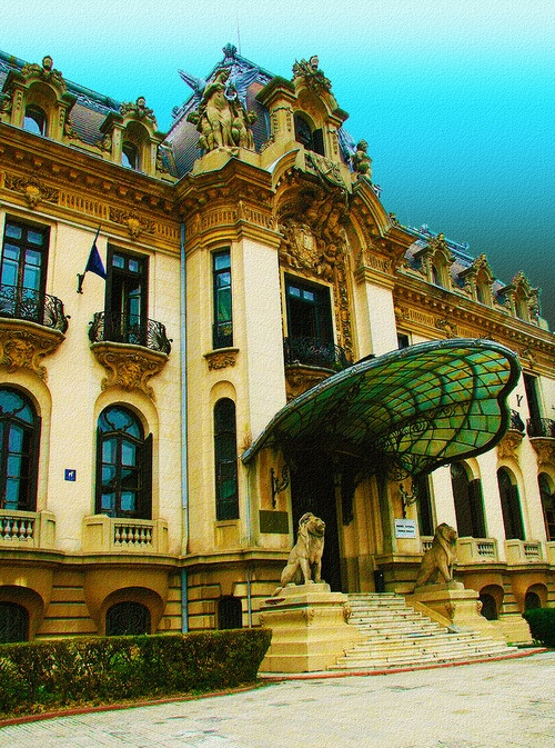 Cantacuzino Palace, Bucharest, Romania Visit Bucharest in Romania as part of a holiday in Transylvania http://www.jmb-travel.com/destination/romania-holiday/transylvania-holiday/ #romania #bulgaria #bucharest