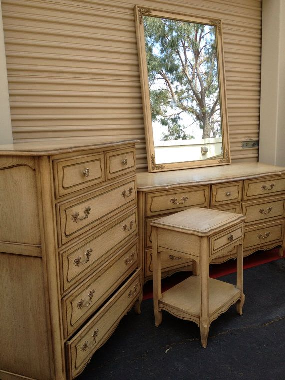 Charming Beautiful French Provincial Bedroom Set On Etsy, $1,499.00