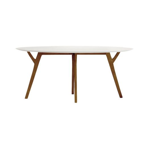 Slim Extendable Dining Table Studios Scandinavian