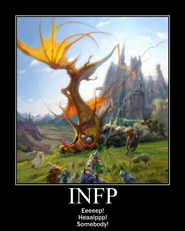 INFPs tend to be clumsy. It has to do with their dreamer ...