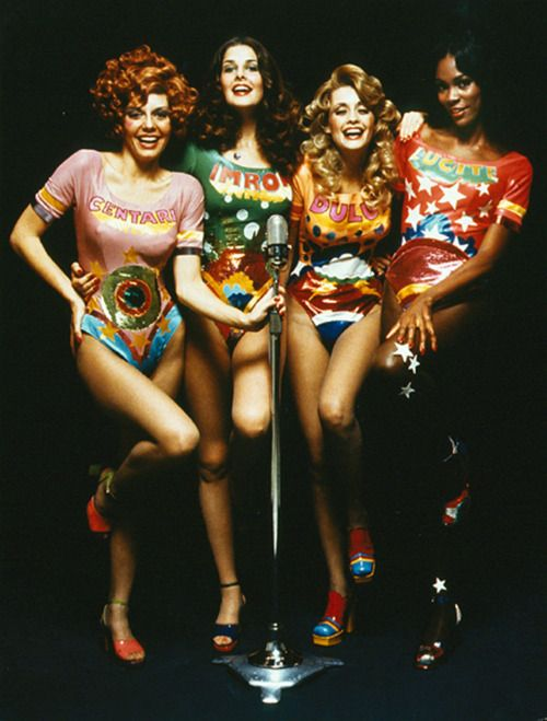 beebe and her pals from weight watchers. Photo by Sid Avery.