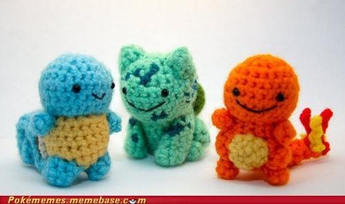 Knitted Starter Pokemon jason_young