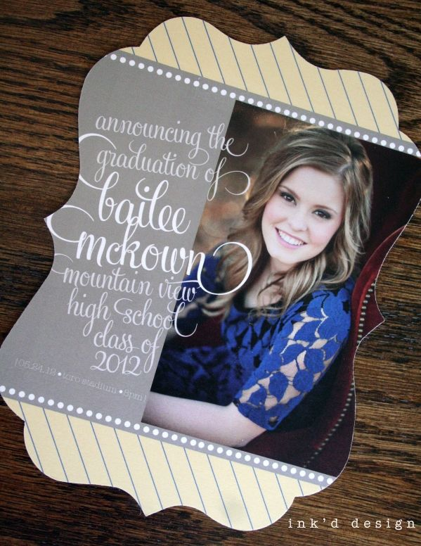 Senior Announcements – Gilbert, AZ »
