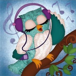 listening owl by Karin Jittenmeier