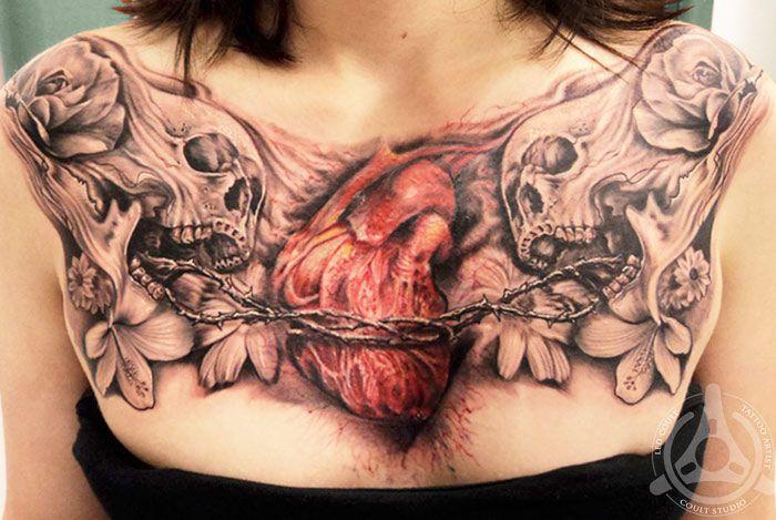 Tattoo Artist - Led Coult Tattoo | www.worldtattoogallery.com/chest_tattoos