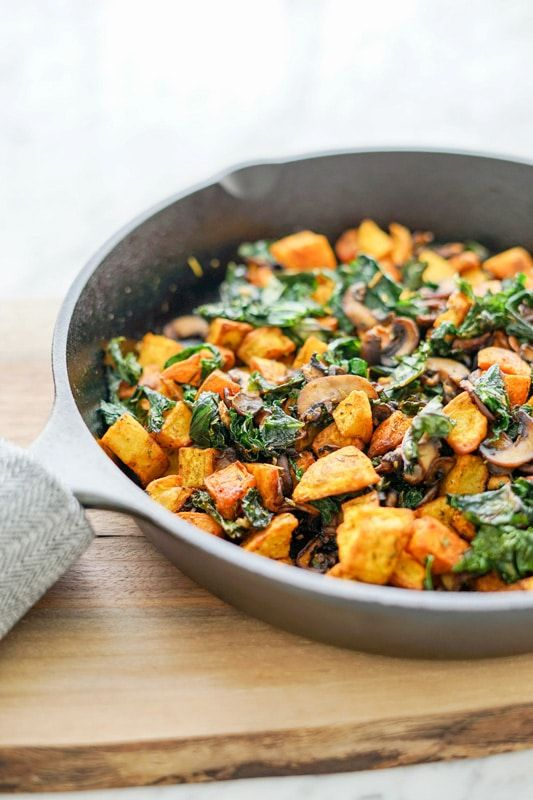 565 best breakfast images on pinterest clean food recipes potato mushroom and kale hash skillet vegan gluten free forumfinder Choice Image