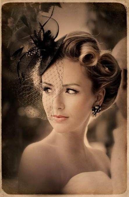 31  Ideas wedding hairstyles short vintage victory rolls