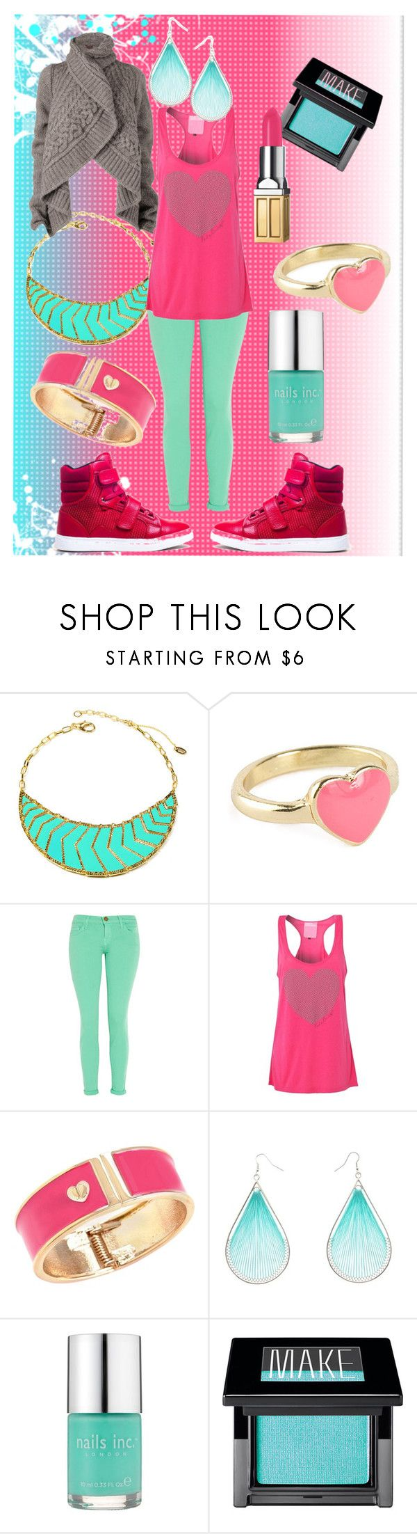 """random#37"" by faleur102 ❤ liked on Polyvore featuring Amrita Singh, Android Homme, Current/Elliott, Paul's Boutique, Betsey Johnson, Nails Inc., Make, Elizabeth Arden and 161"