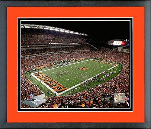 Paul Brown Stadium Cincinnati Bengals NFL Photo (Size: 18″ x 22″) Framed