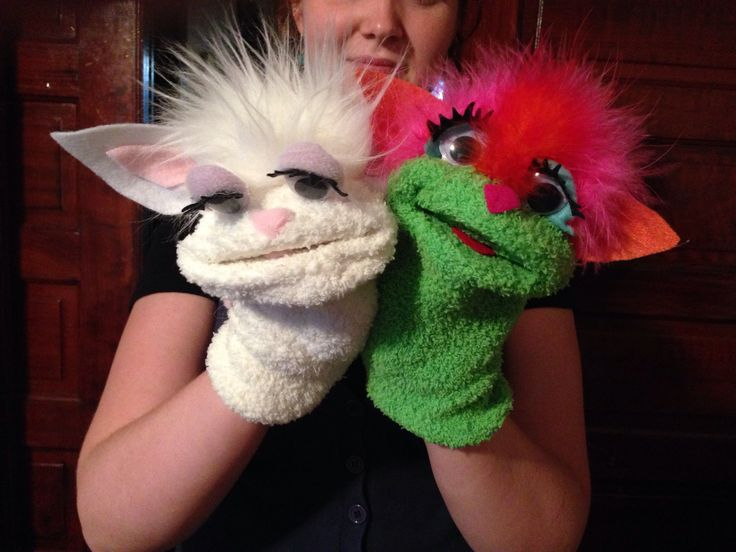 Friends - sock puppets