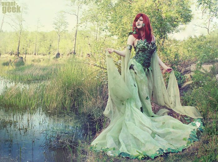 Enchanted Poison Ivy Cosplay http://geekxgirls.com/article.php?ID=5401