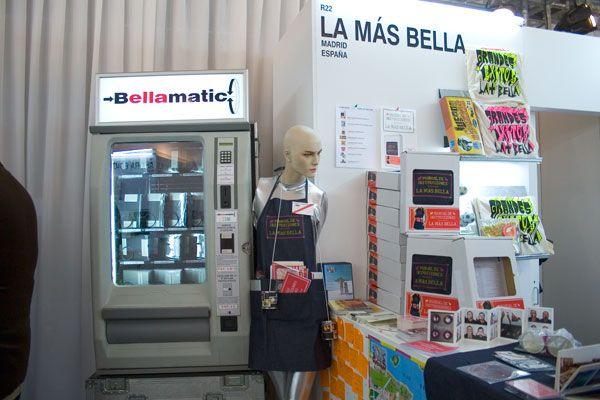 ARCO, colaboration in Experimental Art Magazine (La Mas Bella), MADRID -www.lamasbella.org, diego Ortiz & Pepa Murciego in the photo