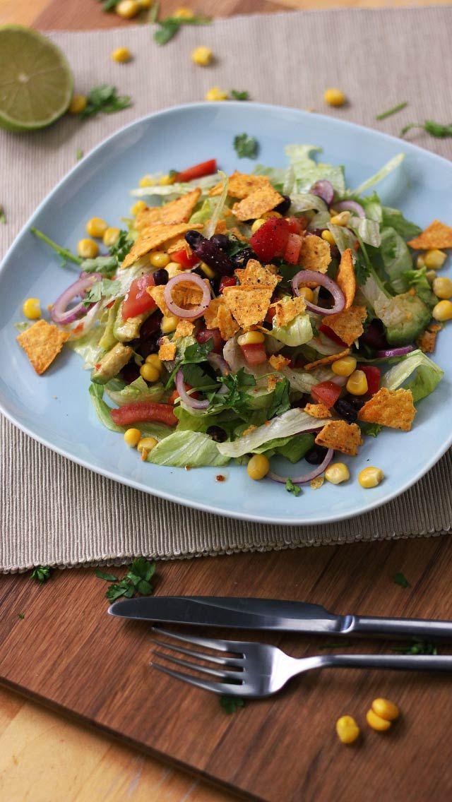 m s de 25 ideas incre bles sobre mexikanischer salat en pinterest mexikanischer schichtsalat. Black Bedroom Furniture Sets. Home Design Ideas
