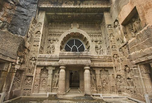 The Ajanta Caves - India.... I want to go explore!!!