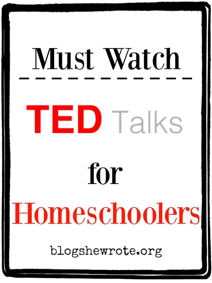 "By now you've probably heard about ""TED Talks"". TED is a non-profit organization on a mission to spread ideas. TED's tagline is Ideas worth spreading. How do they go about accomplishing their mission? They provide powerful ""talks"" which are 18 minutes or less in length. I've come across a few gems and today I'm sharing …"