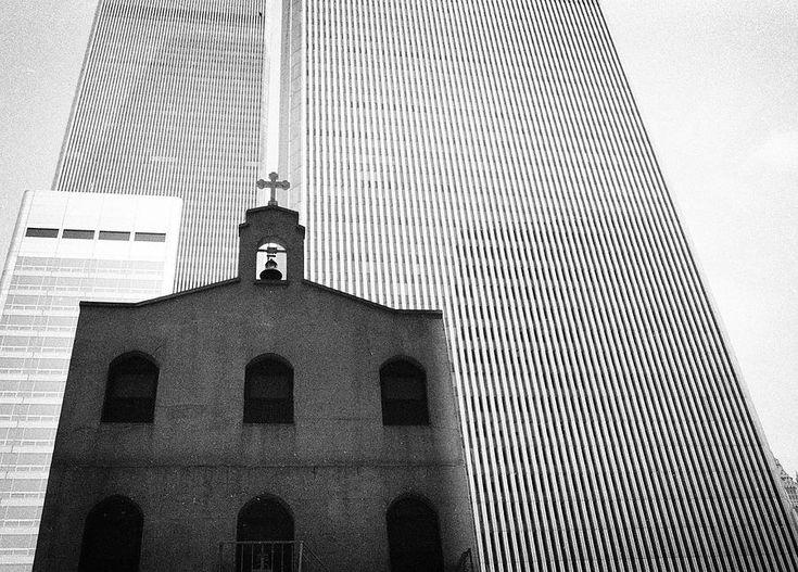 Shadow Of World Trade Center Photograph by Dave Beckerman