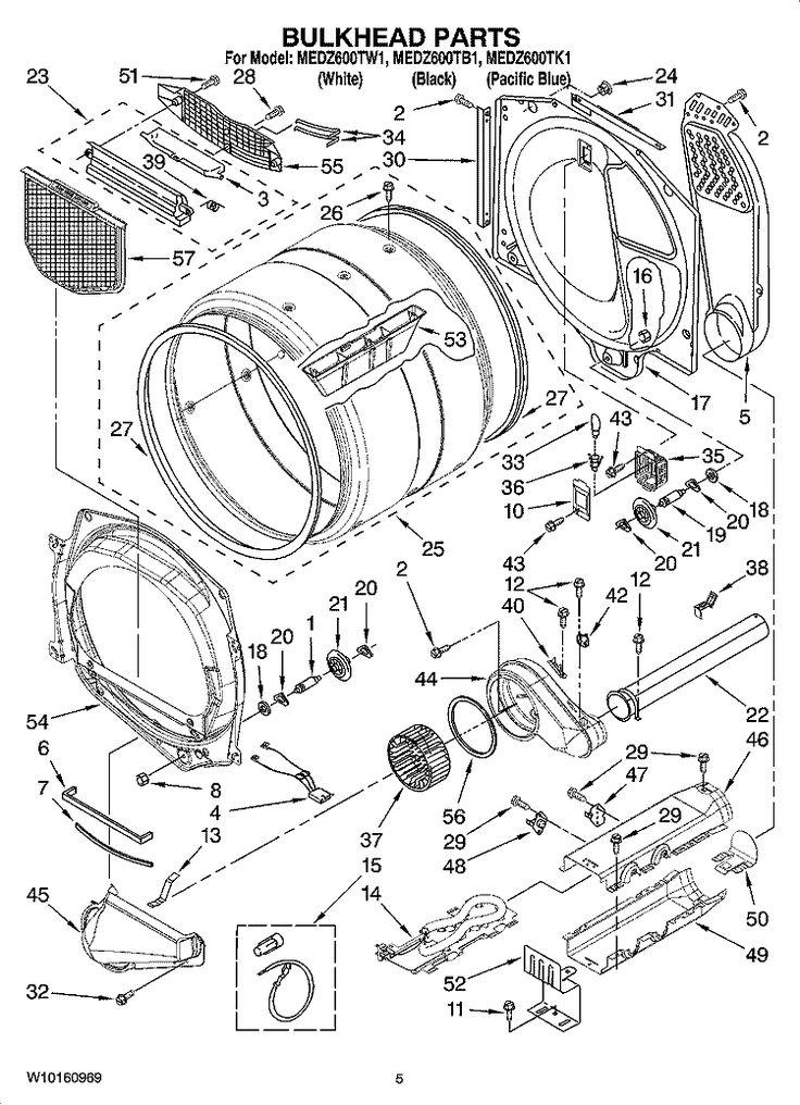 Oem Whirlpool Dryer Heater, Kenmore Elite He3 Dryer Wiring Diagram