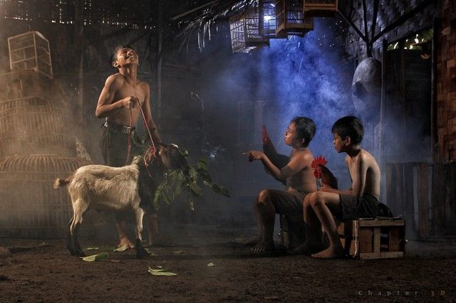 Life In Indonesian Villages Captured by Herman Damar 18