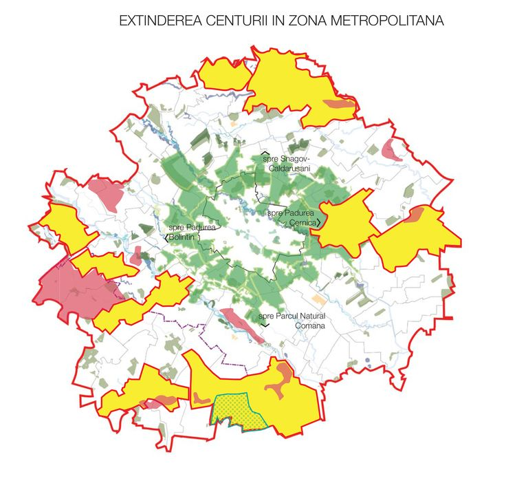 Extention of the GreenBelt in the Metropolitan Area connecting the major Natural Sites in a 20 km radius