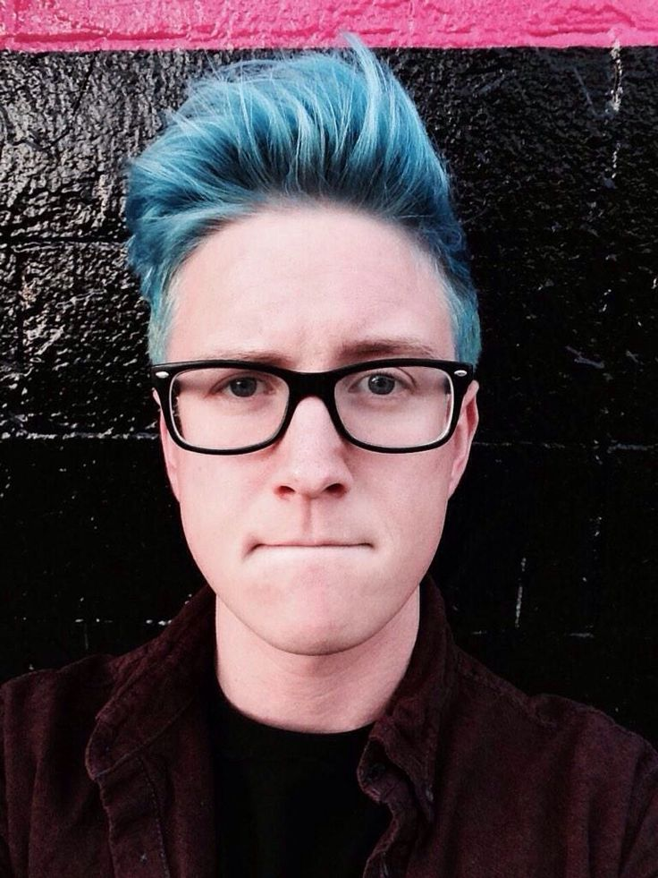 Tyler Oakley <3 I am so proud of him and how far he has come. He is really trying to make a difference in this world. :)