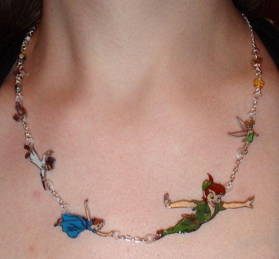 Fly away to Neverland Necklace, I want this SOOOOO bad!!!!!!!!!