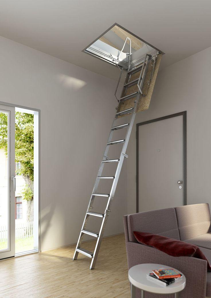 Bonito Escaleras Plegables Para Altillos Embellecimiento - Ideas de ...