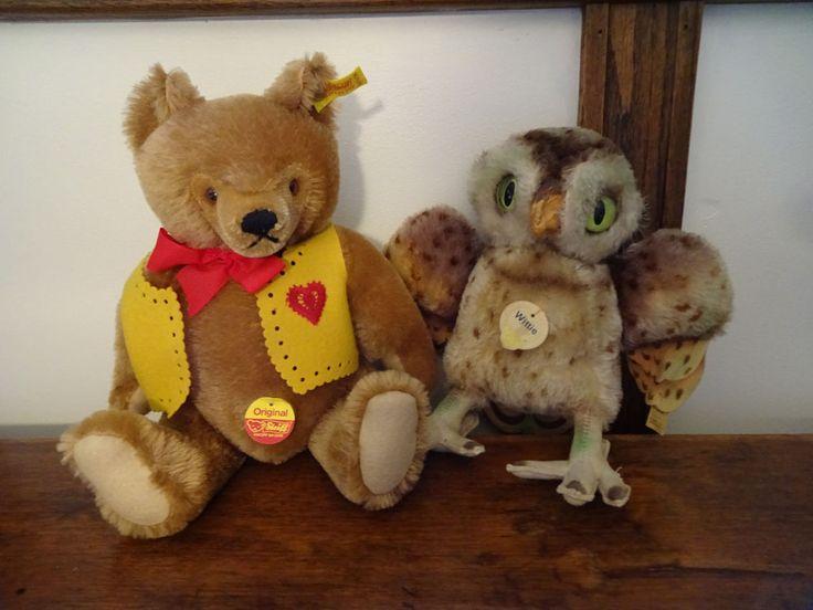 Steiff Valentine Teddy Bear Wittie Owl Mixed Lot 2 4322 0211/36 Stuffed Toys   http://www.ebay.com/itm/Steiff-Valentine-Teddy-Bear-Wittie-Owl-Mixed-Lot-2-4322-0211-36-Stuffed-Toys-/302303736359?hash=item4662b4f227:g:kQYAAOSw~y9ZCTgN