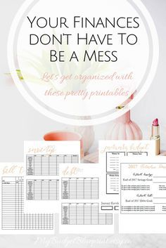 printables. home management. home organization. finance printables.