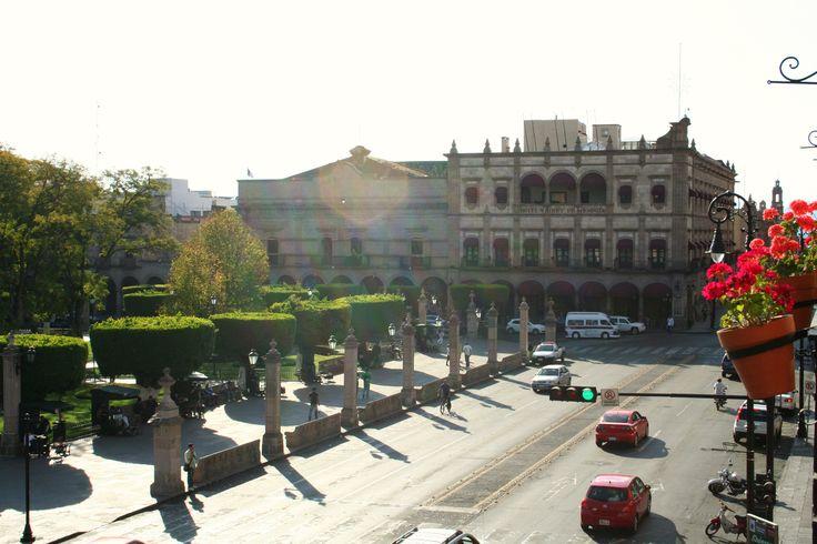 Plaza Armas, Morelia