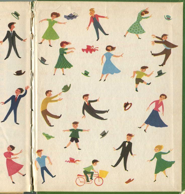 bewarethebibliophilia:  1946, Dellwyn Cunningham, The Blowaway Hat