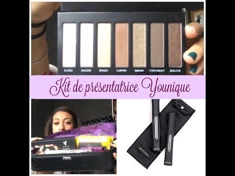 Kit distributrice Younique - YouTube