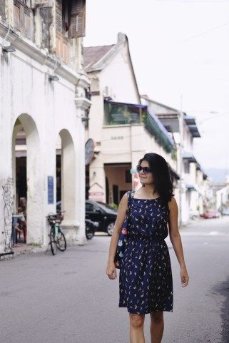 Walking around in search of street art in Georgetown, Penang makes the perfect excuse for some vacation photography!