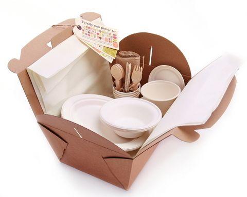 Il kit per le feste biodegradabili