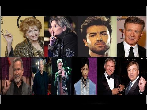 """Carrie Fisher Hoax - Mark Hamill & Harrison Ford Exposed - Celebrity """"Retirements"""" - YouTube"""