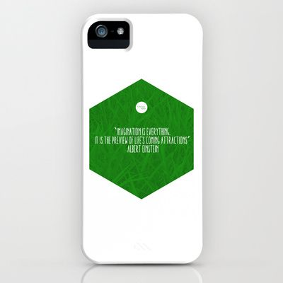 Imagination Is Everything iPhone & iPod Case by Growing Ideas - $35.00