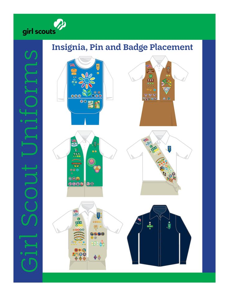 girl guides canada badge placement