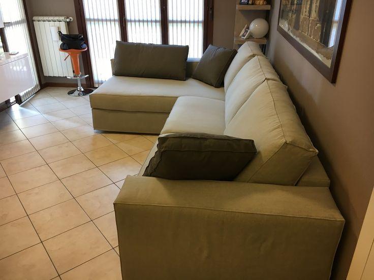 28 best divani su misura brianza images on pinterest - Copridivano chaise longue su misura ...