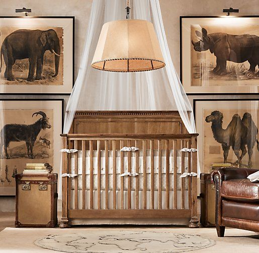 African Animal Art Art Restoration Hardware Baby