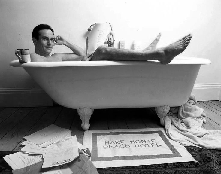Men In Bathtubs # Jason Issacs In A Bath Tub . There Is A Strong  Possibility He Is Really Going The Full Monty