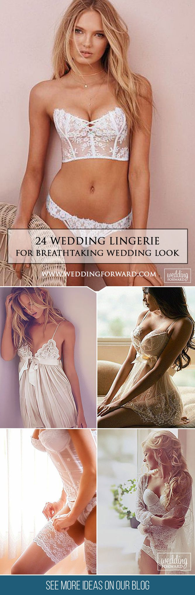 24 Breathtaking Wedding Lingerie ❤   Make your wedding day and wedding-night perfect with a stunning wedding lingerie from our list below. Show your sexiness to your groom! See more: http://www.weddingforward.com/wedding-lingerie/ #weddings #lingerie #dress