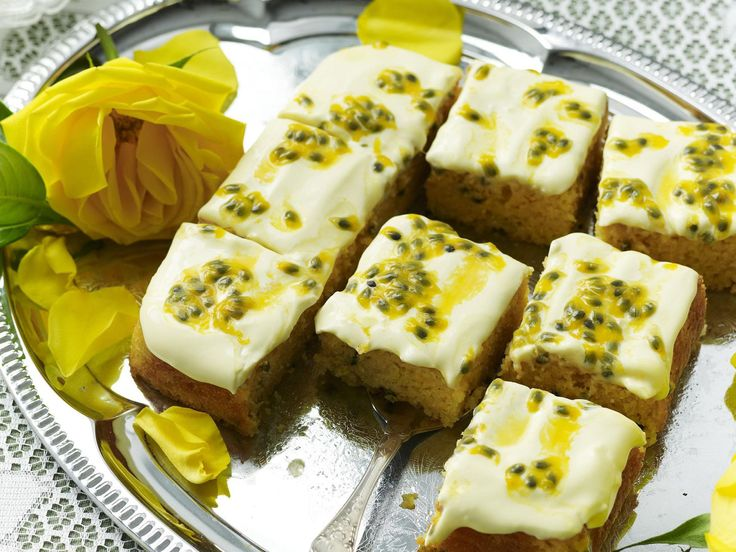 Passionfruit madeira cake, passionfruit recipe, brought to you by Australian Women's Weekly