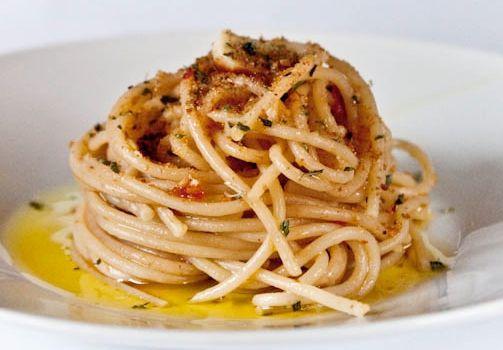 spaghetti aglio olio e nduja