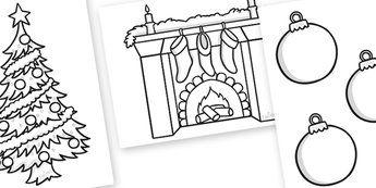 Feuilles à colorier de Noël - noël, colorants, la motricité fine, affiches, feuille de calcul, arbres, l'Avent, nativité, noël, noël de père, Jésus, arbre, stockage, présente, activité, cracker, ange, bonhomme de neige, avènement, babiole