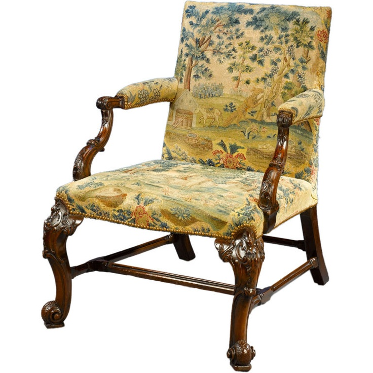 George II Gainsborough Library Armchair92 best Antique sofas and chairs images on Pinterest   Antique  . Antique Library Armchairs. Home Design Ideas